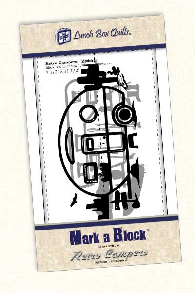 Mark-a-Block Retro Campers