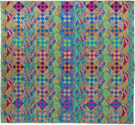 Coleus Columns by Kaffe Fassett Fabric Kit