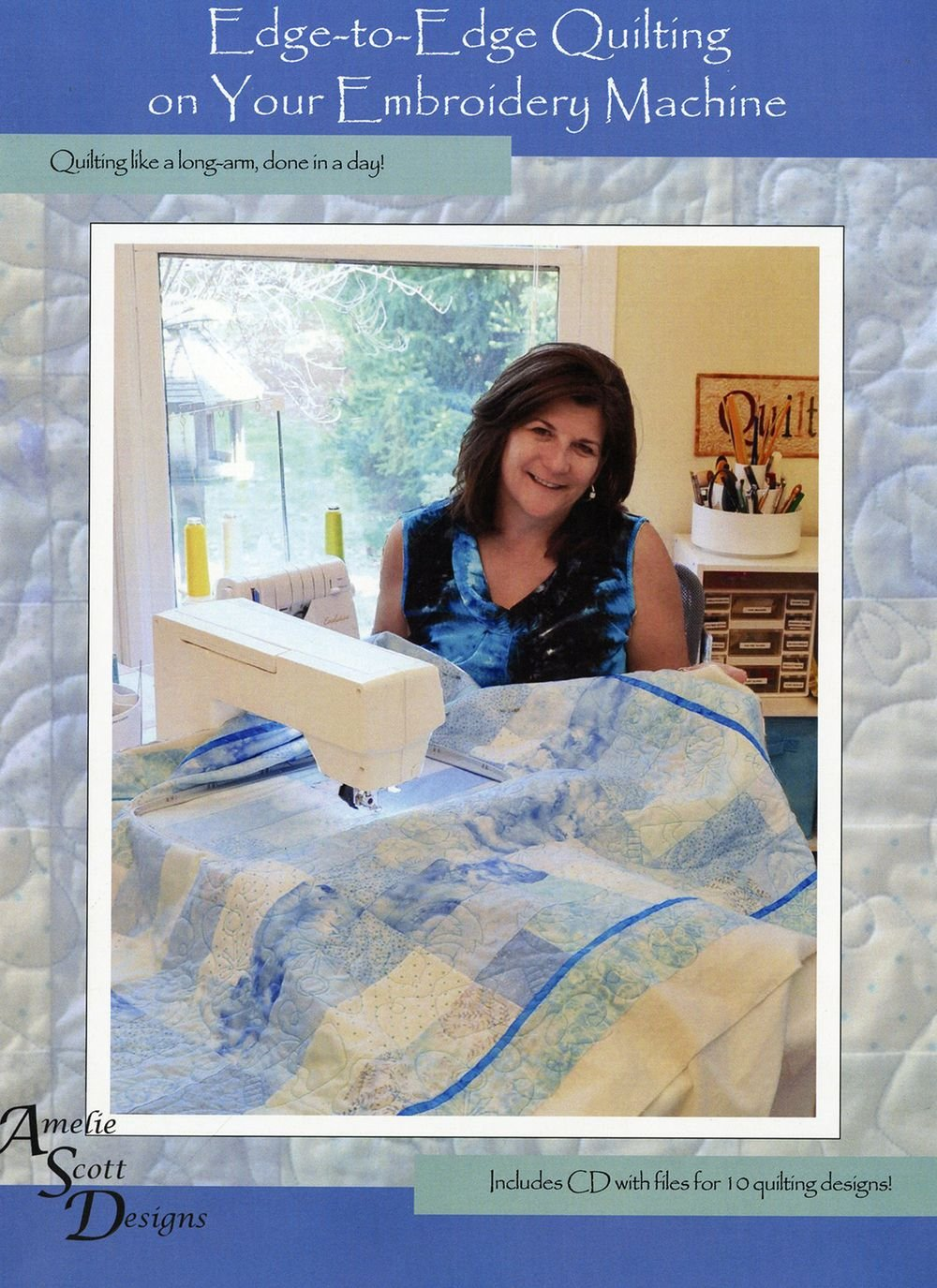 EDGE TO EDGE QUILTING EMBROIDERY