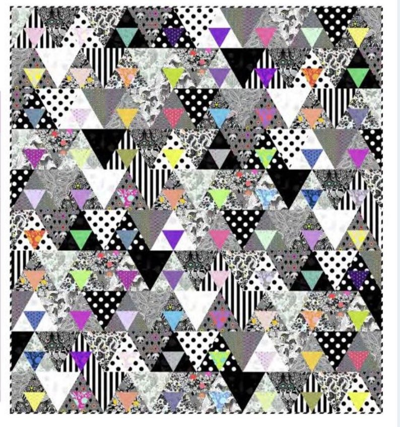 Tula Pink Equilateral Quilt Kit & Pattern
