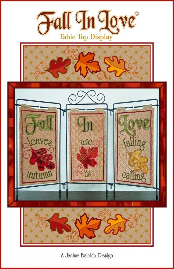 FALL IN LOVE TABLE TIP DISPLAY