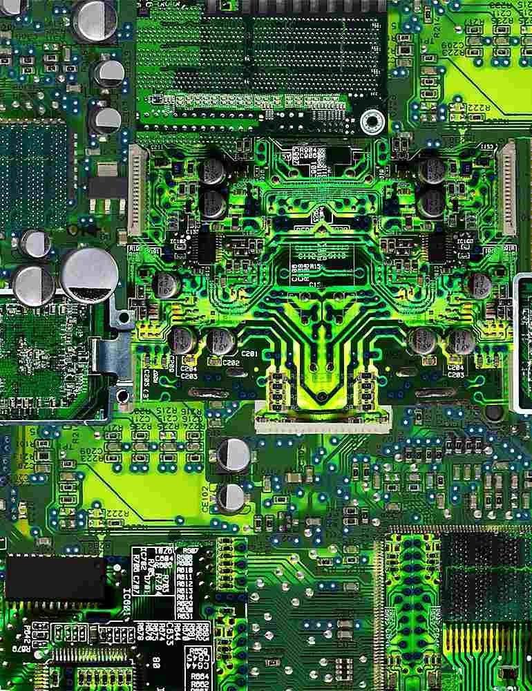 Circuit Board - Green