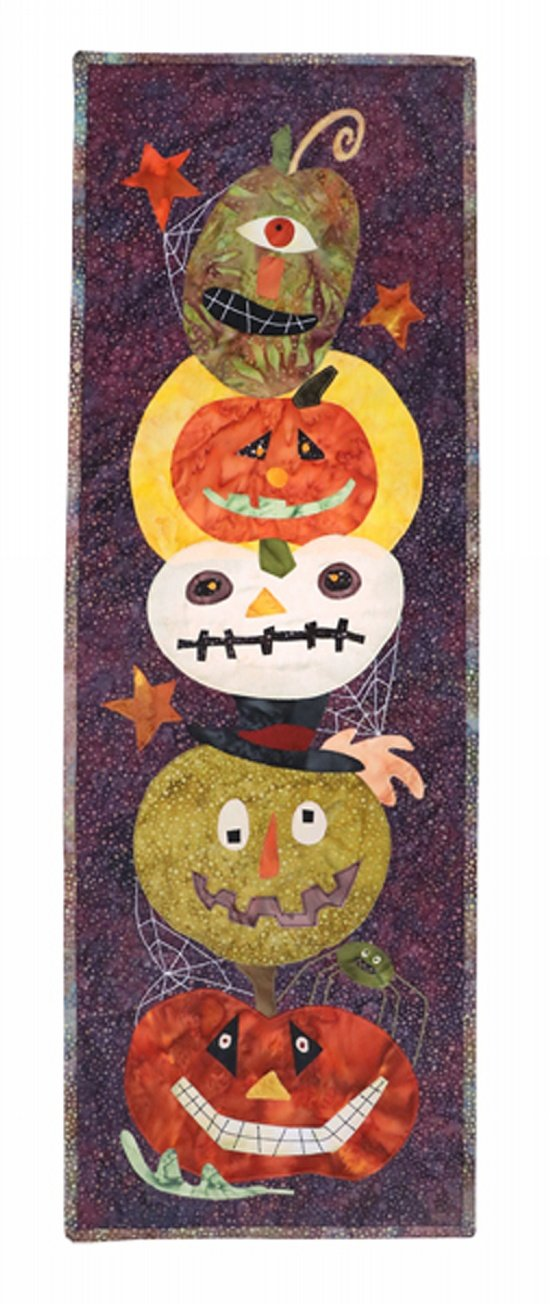 GOURDY'S GANG FABRIC KIT WITH PATTERN
