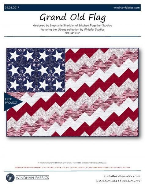 GRAND OLD FLAG KIT & PATTERN