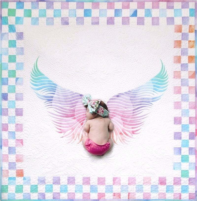 Angel Wings Kit Heaven Sent designed by Joanne Hoffman Opal