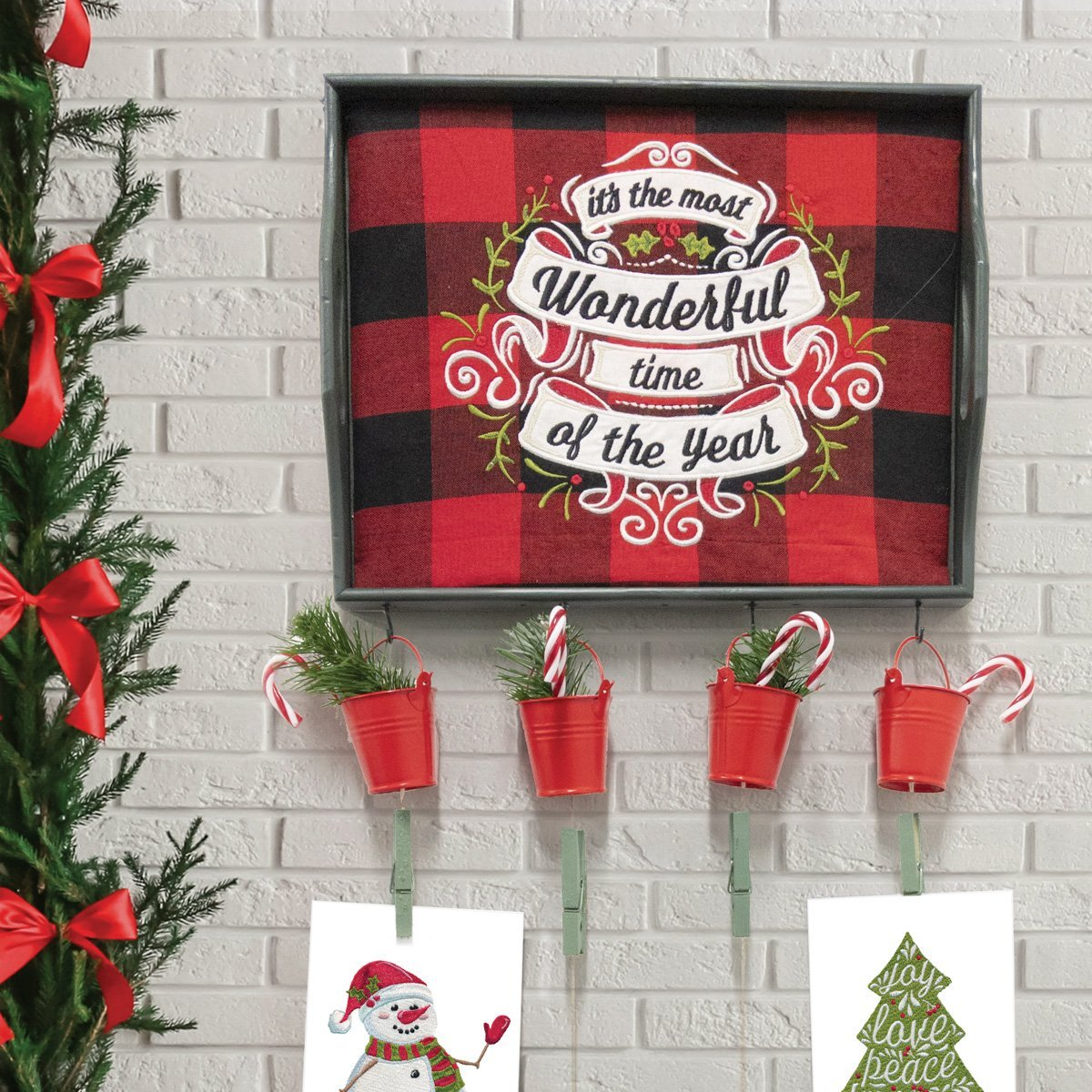 HOLLY JOLLY EMBROIDERY