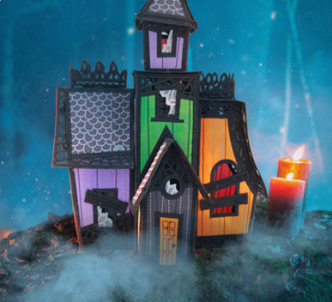 FREE STANDING HAUNTED MANSION