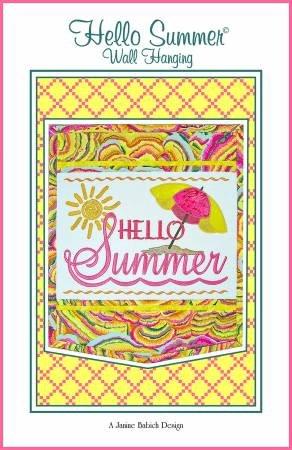 HELLO SUMMER WALL HANGING