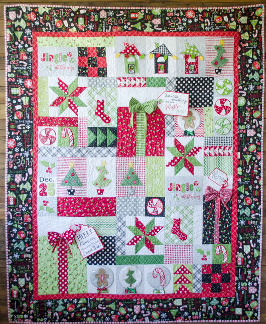 Jingle All The Way Fabric Kit