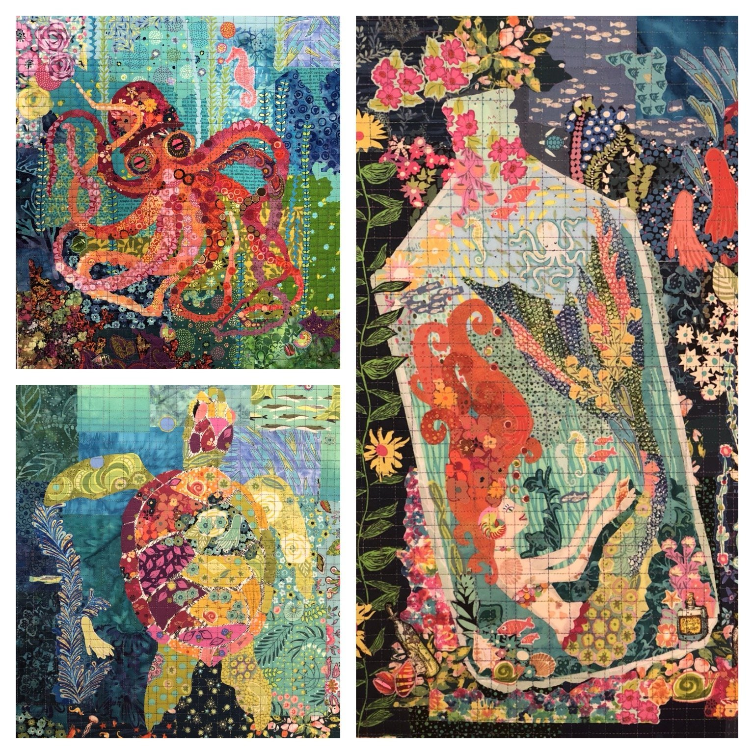 TEENY TINY COLLAGE PATTERNS GROUP 4 - LAURA HEINE