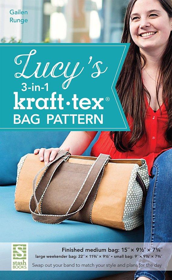 LUCY'S KRAFT TEX BAG PATTERN