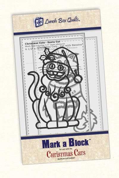 Mark-a-Block Christmas Cats