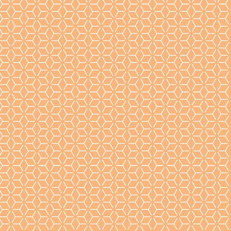 Orange Connected Stars