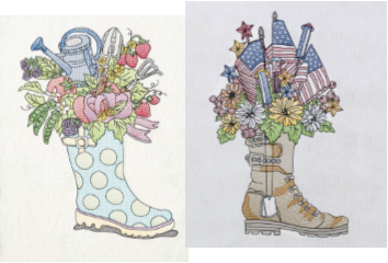 Bootiful Bouquets Military & Galoshes