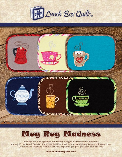 MUG RUG SEWING BY LUNCH BOX QUILTS