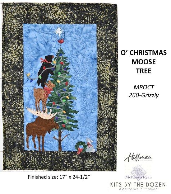O' CHRISTMOOSE TREE KIT & PATTERN