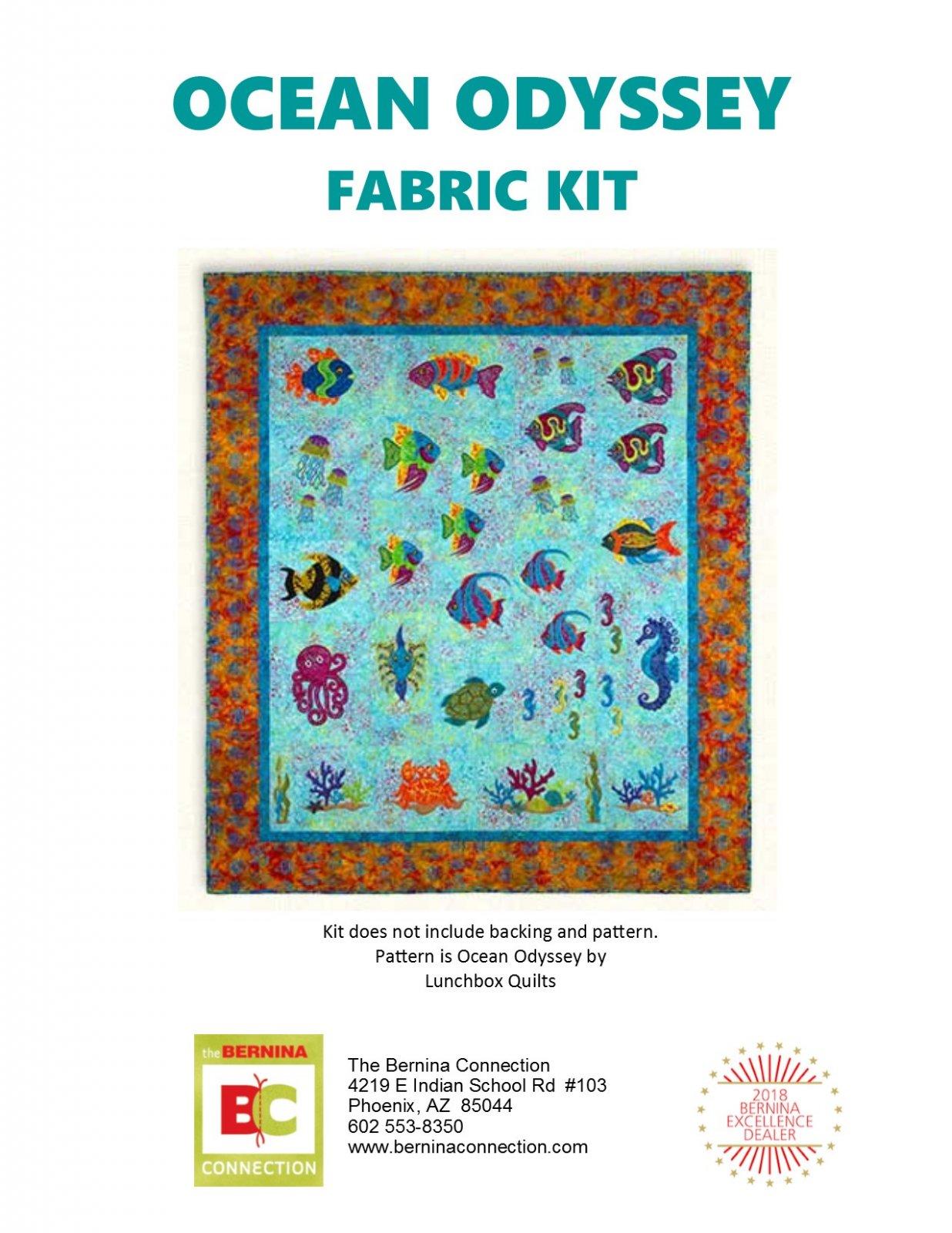 Ocean Odyssey Fabric Kit