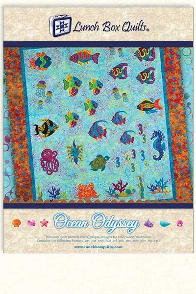 OCEAN ODYSSEY BY LUNCH BOX QUILTS