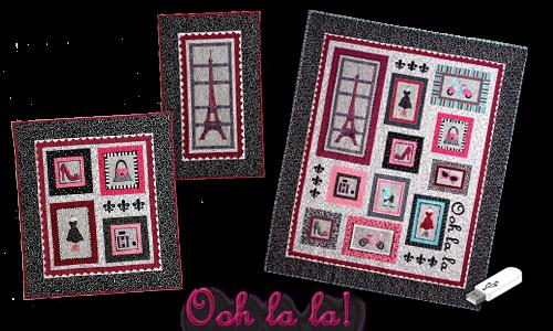 Ooh La La-Machine Embroidery