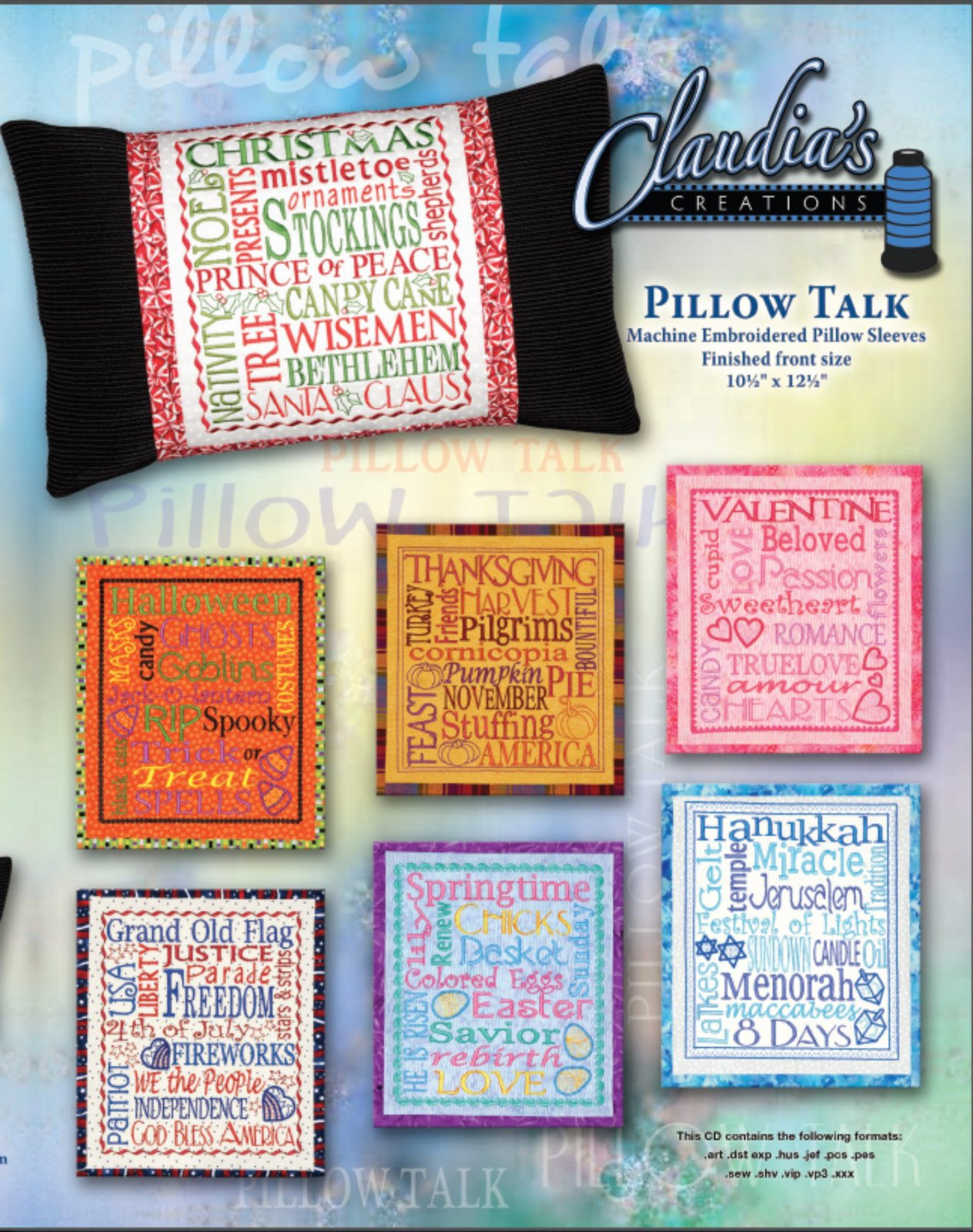 Pillow Talk by Claudia's Creations