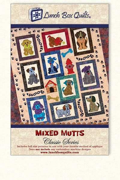 Classic Mixed Mutts-Applique