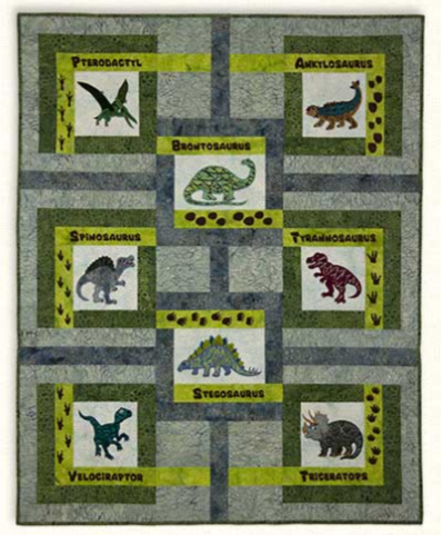 Quiltasaurus Fabric Kit