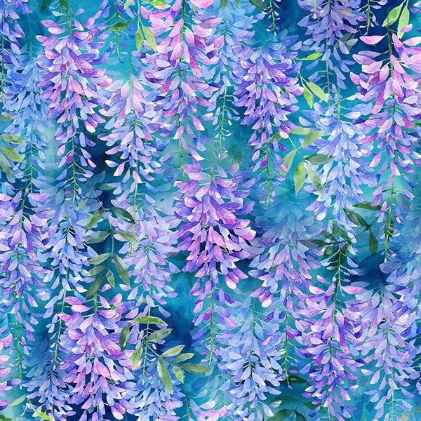 When In Wisteria - Hyacinth - Spectrum Digital Print