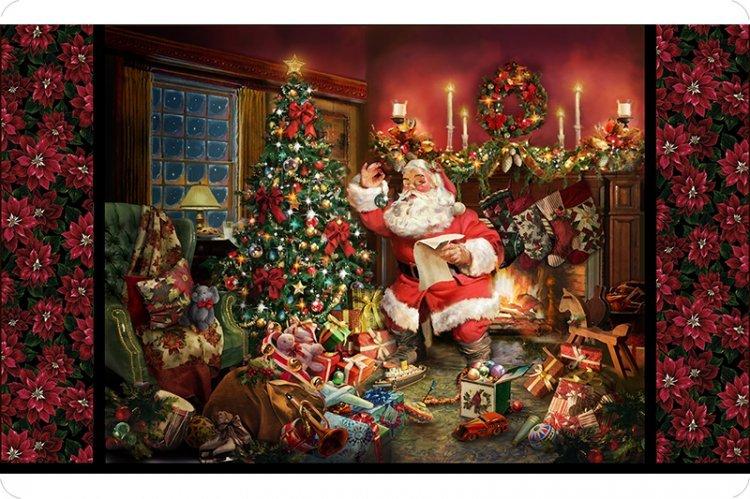 Hoffman Santa Digital Cuddle Panel