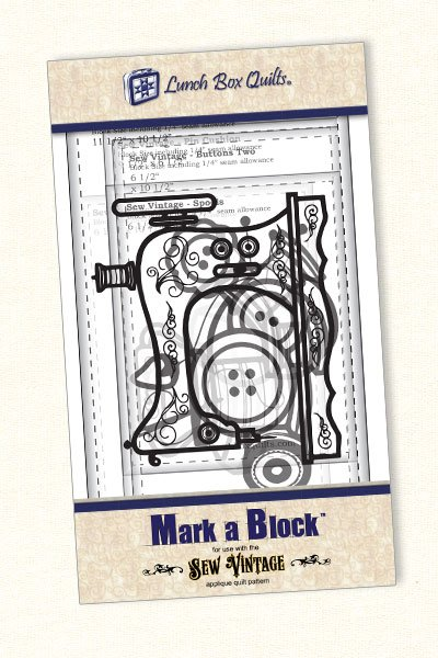 Mark A Block - Sew Vintage