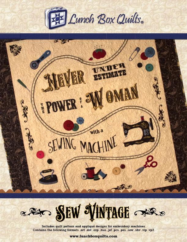 Sew Vintage Machine Embroidery