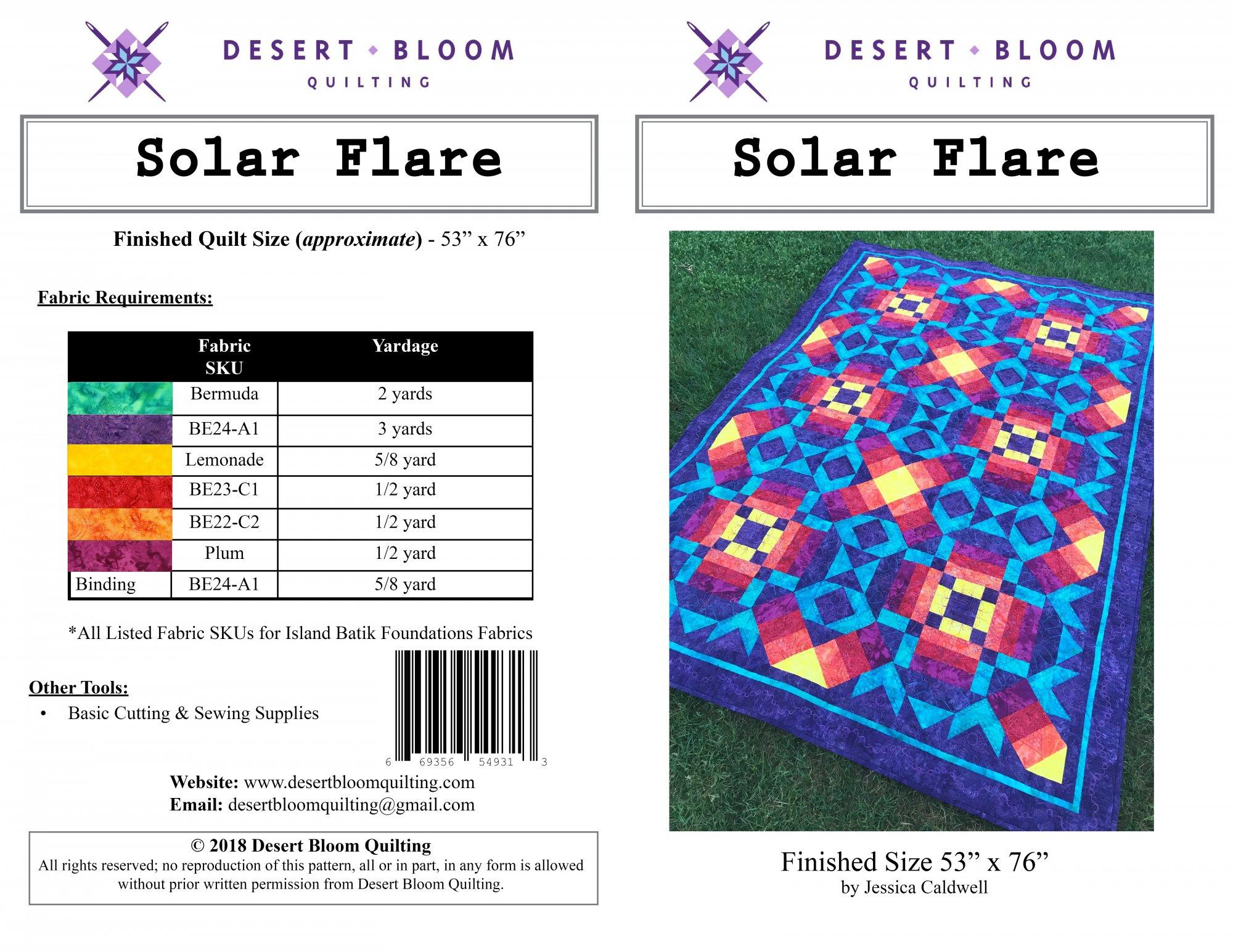 Solar Flare Quilt
