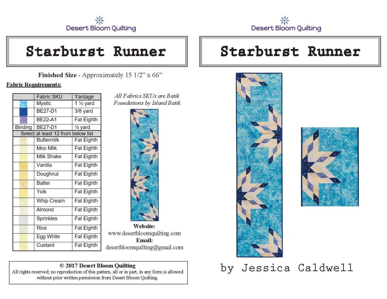 STARBURST RUNNER BY JESSICA CALDWELL