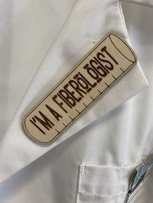 I'm A Fiberologist Needle Minder