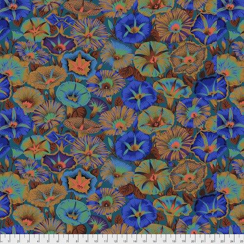 Kaffe Fassett Collection - Rose & Hydrangea Blue