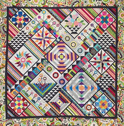 40 Shades of Gray Quilt Pattern by Wendy Williams of Flying Fish Kits