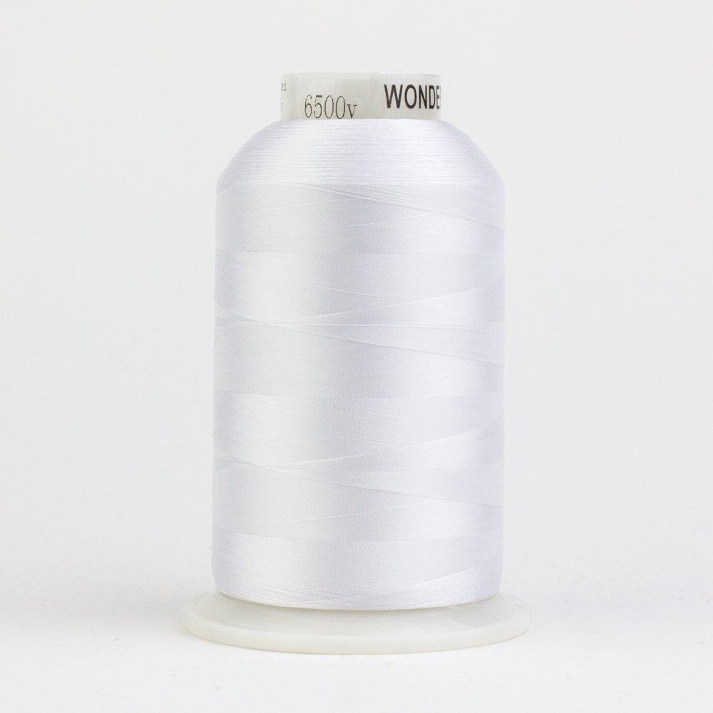 DecoBob White DB104 80wt Thread by Wonderfil 2187 yd