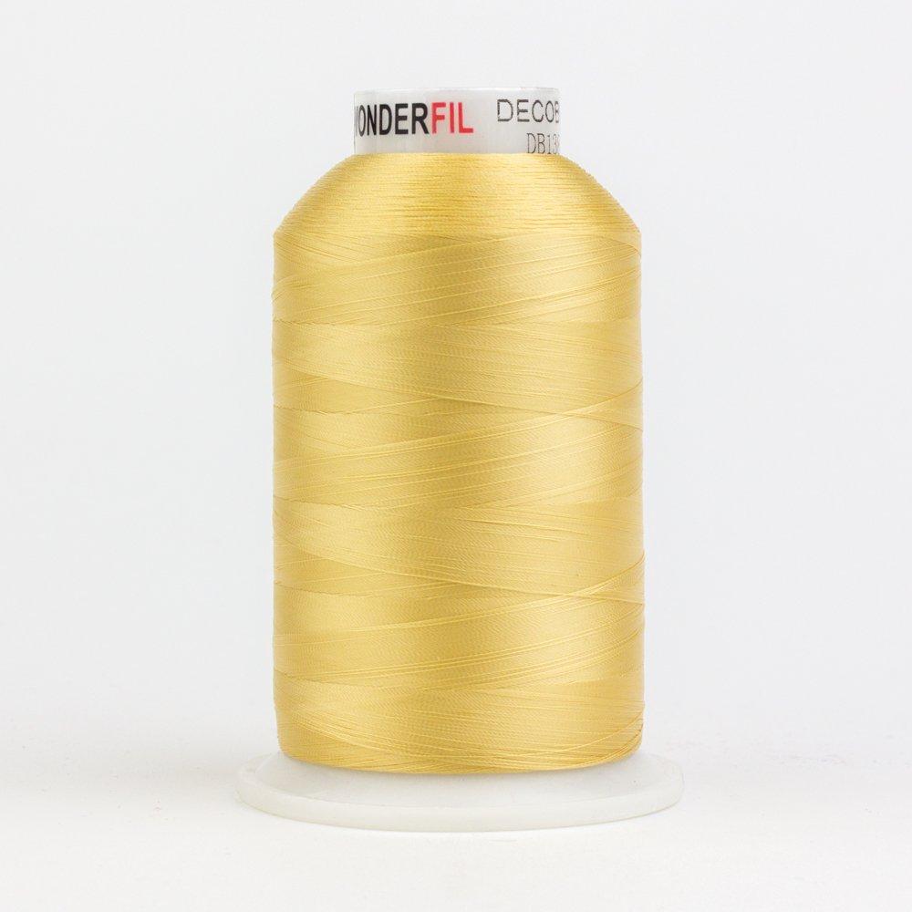 DecoBob  Soft Gold DB138 80wt Thread by Wonderfil 2187 yd