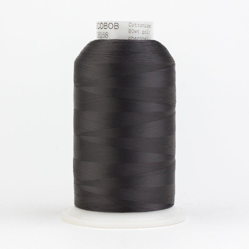 DecoBob  Charcoal DB168 80wt Thread by Wonderfil 2187 yd