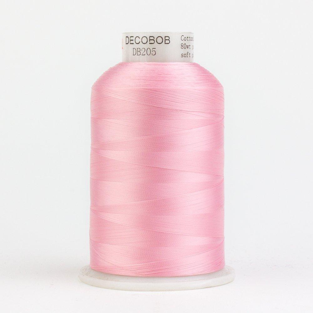 DecoBob  Soft Pink DB205 80wt Thread by Wonderfil 2187 yd