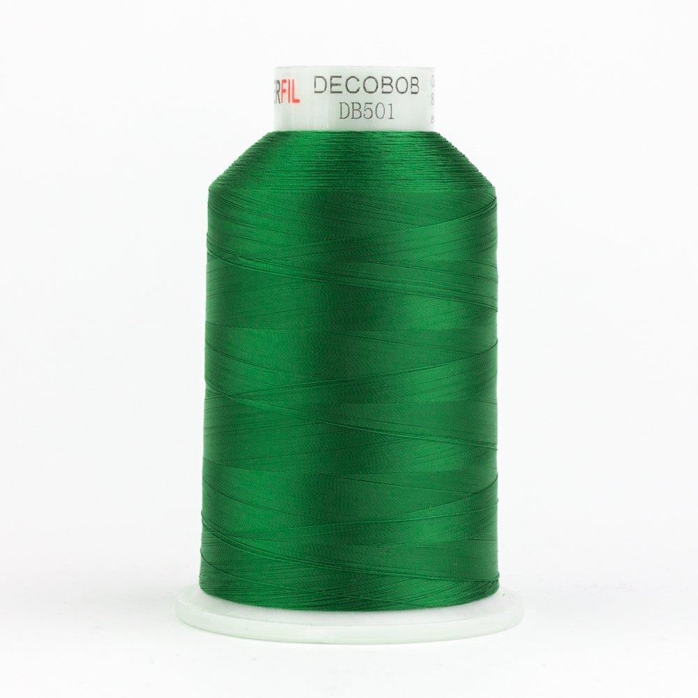 DecoBob  Evergreen DB501 80wt Thread by Wonderfil 2187 yd