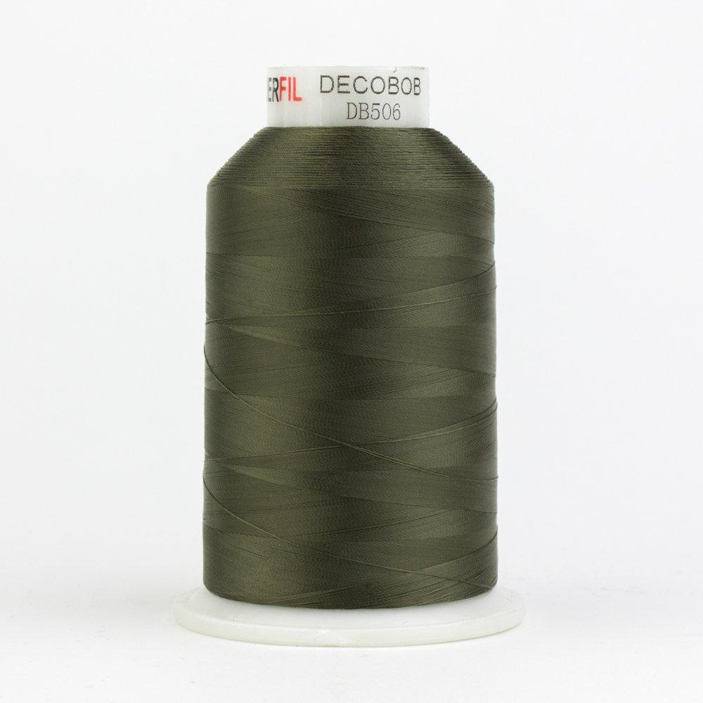 DecoBob  Moss Green DB506 80wt Thread by Wonderfil 2187 yd
