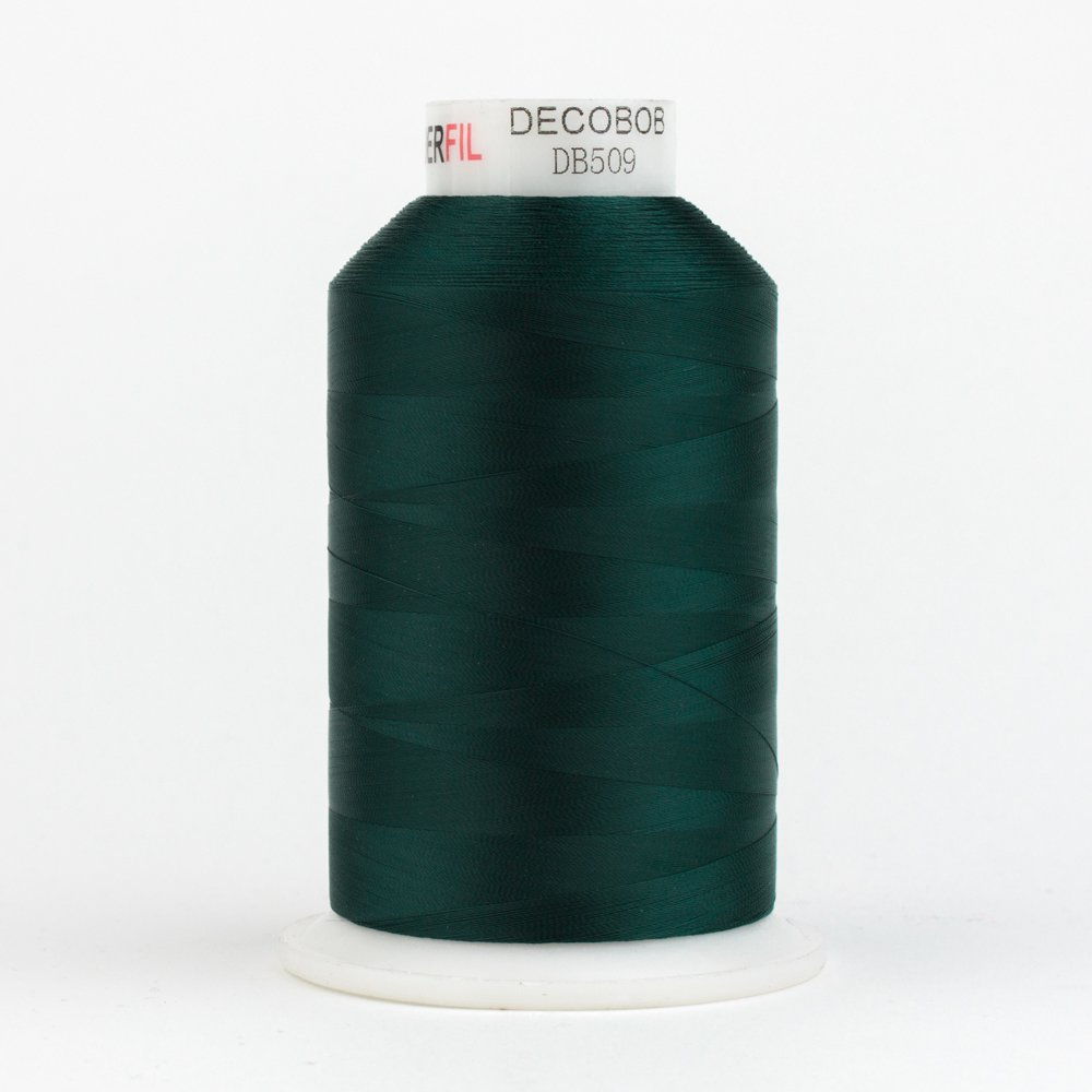 DecoBob  Dark Green DB509 80wt Thread by Wonderfil 2187 yd