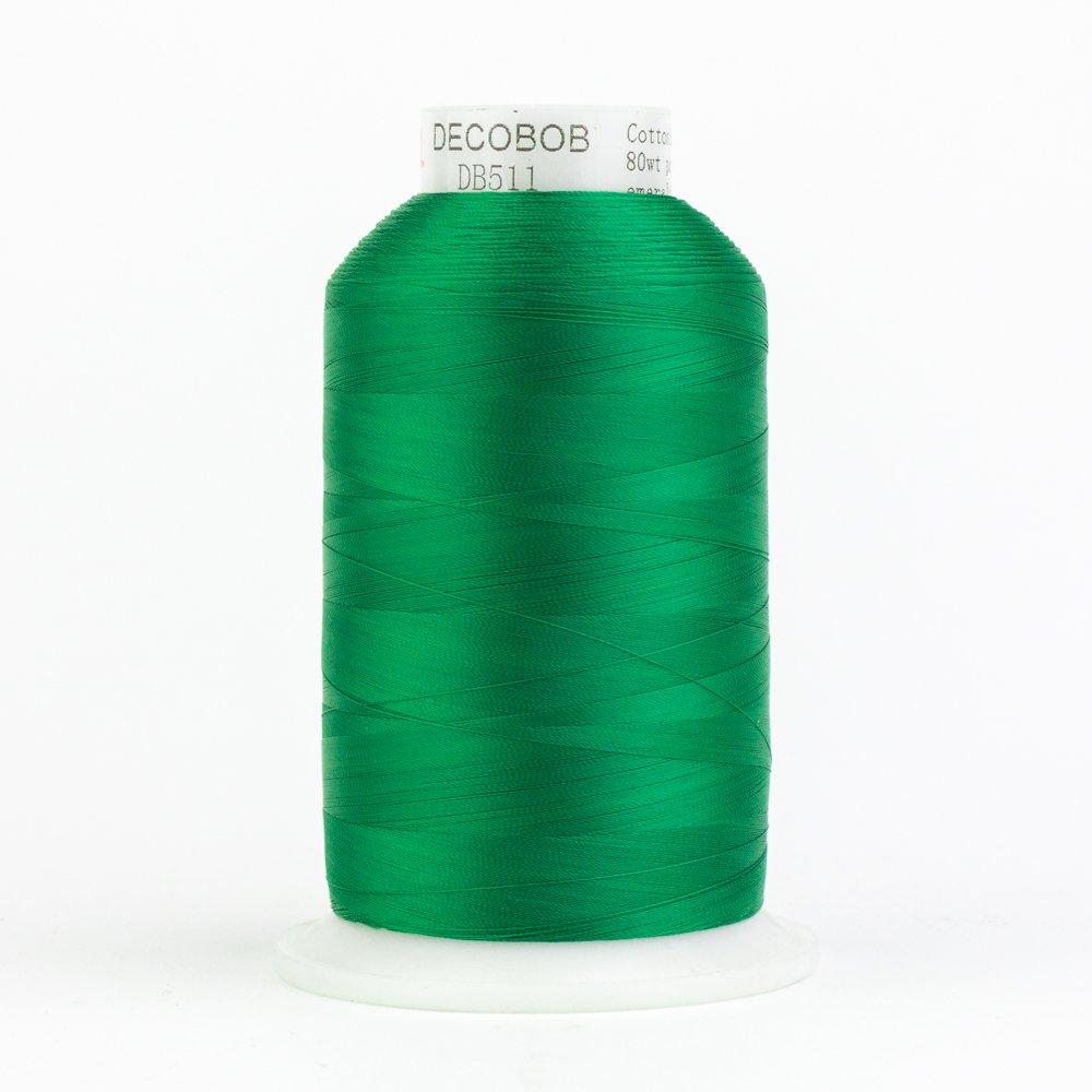 DecoBob  Emerald Green DB511 80wt Thread by Wonderfil 2187 yd