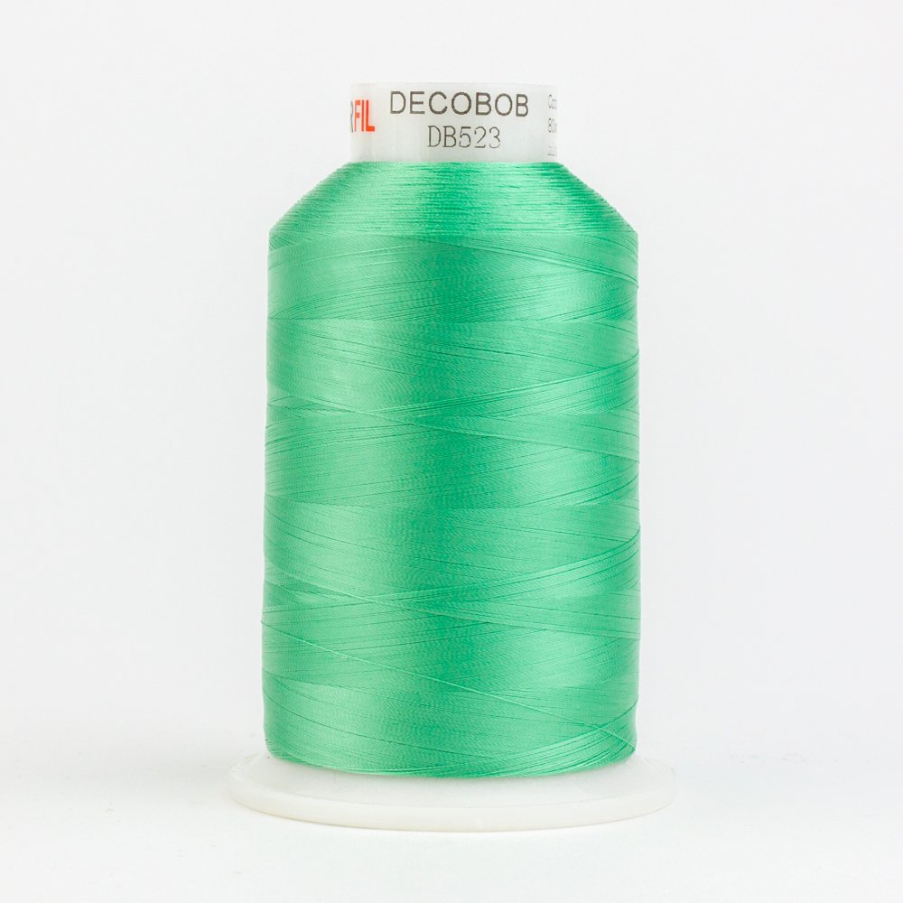 DecoBob  Mint Green DB523 80wt Thread by Wonderfil 2187 yd