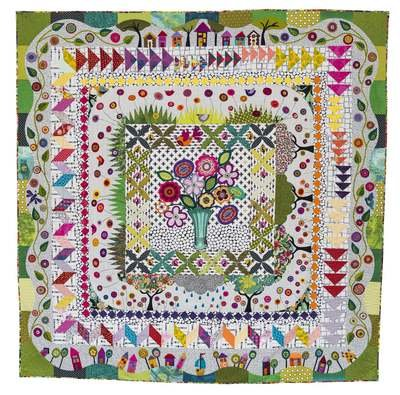 Around the Corner Quilt Pattern by Wendy Williams of Flying Fish Kits