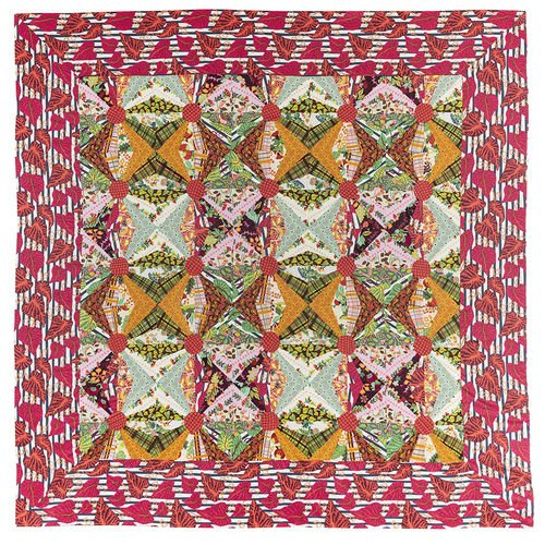Boomerang Quilt Pattern by Kathy Doughty