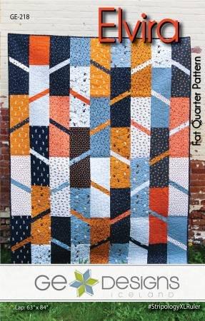 Elvira Quilt Pattern by GE Designs