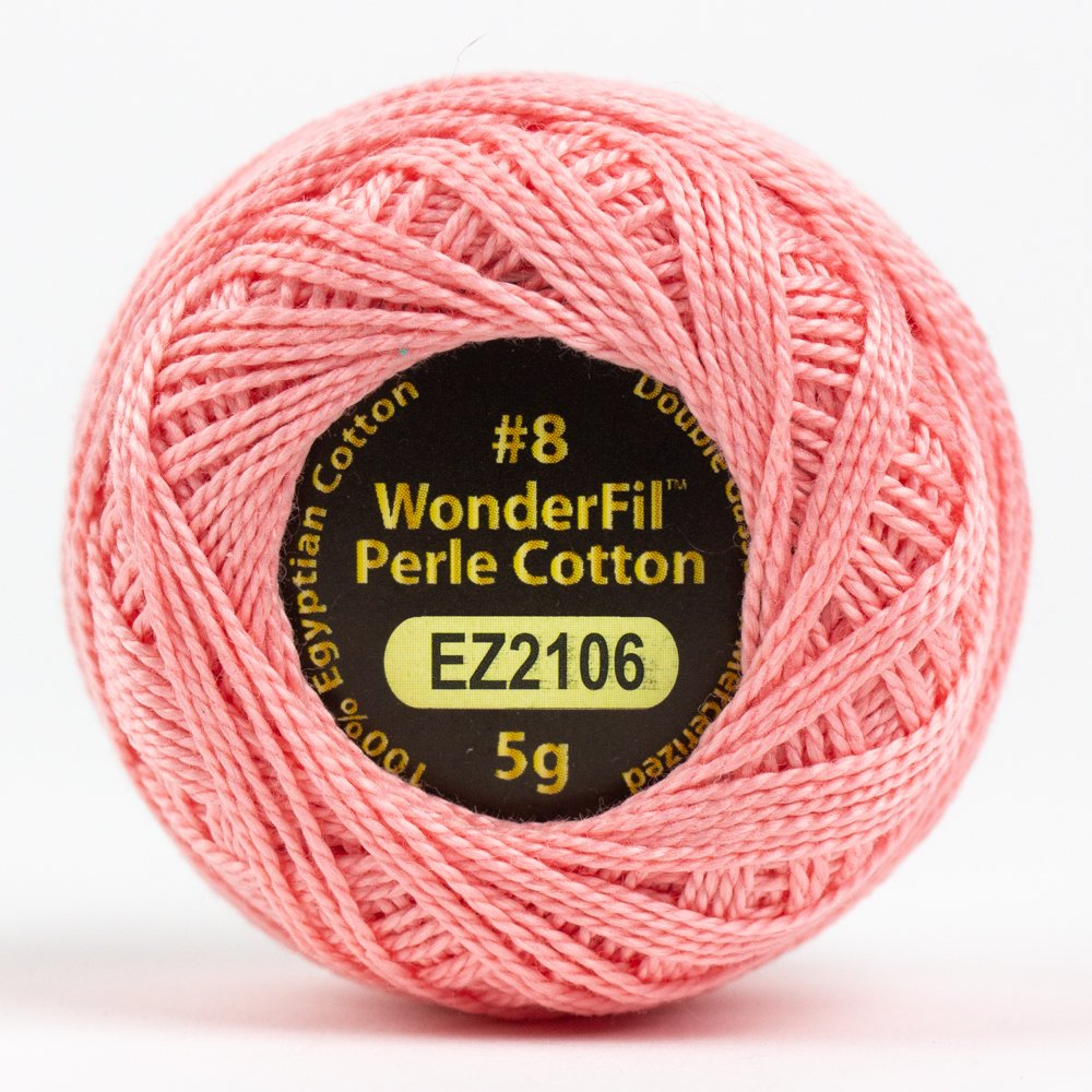 #8 Blush EZ2106 Solid Eleganza Perle Cotton by Alison Glass for Wonderfil