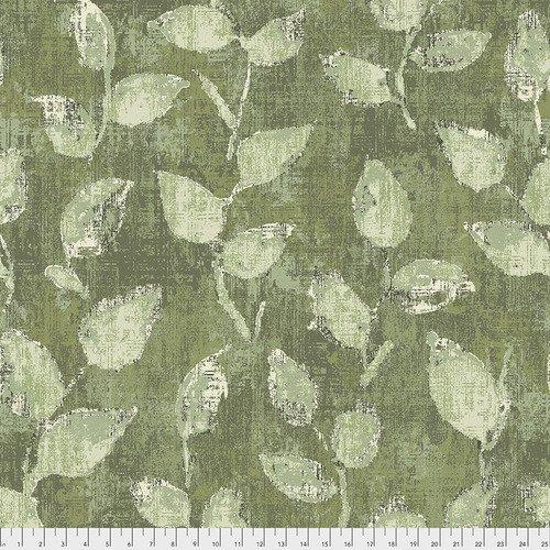 FreeSpirit Underwood Green 3 Yard Pre-cut 108 Inch Wide Back Fabric