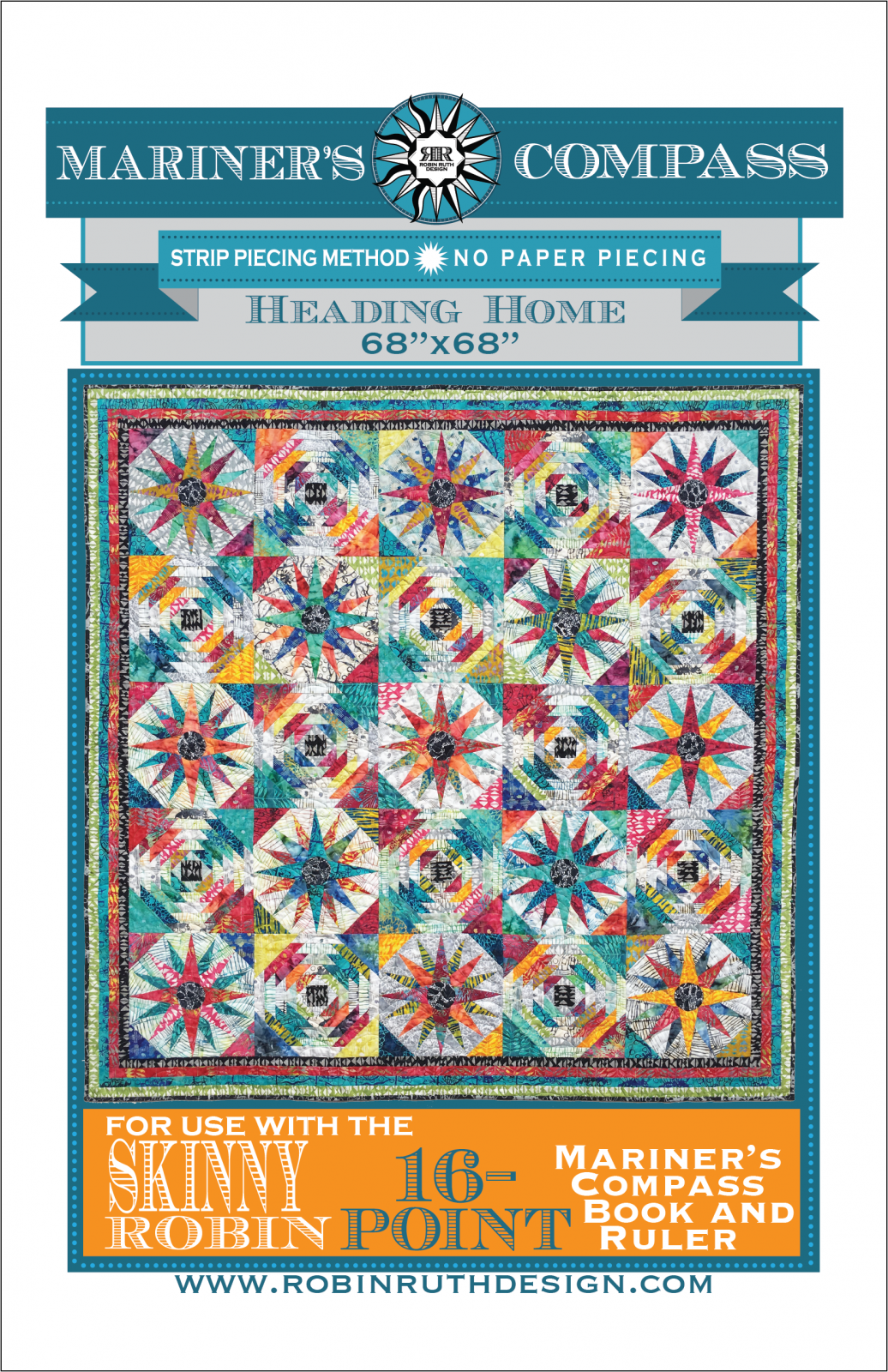 Heading Home Pattern by Robin Ruth Design